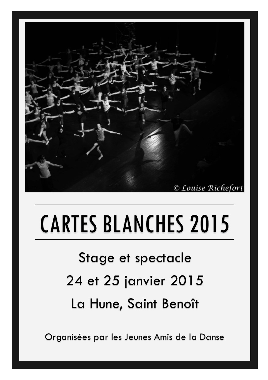 Cartes Blanches 2015